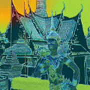 Royal Palace Bangkok Art Print