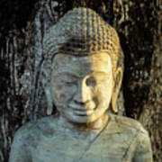 Royal Palace Buddha 02  Art Print