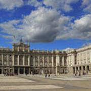 Royal Palace Of Madrid Spain Art Print