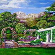 Rozannes Garden Art Print