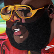 Rozay Art Print by Chelsea VanHook