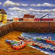 Rozel Harbour - Jersey Art Print