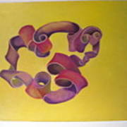Rubberband Number One Art Print