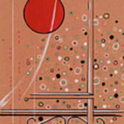 Rubby Moon Art Print