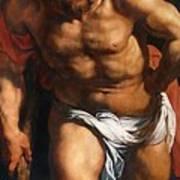 Rubens Descent From The Cross Detail Outside Left Peter Paul Rubens Art Print