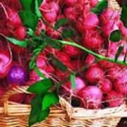 Rubies Organic Art Print