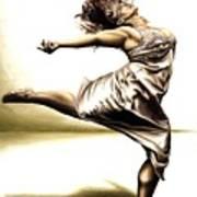 Rubinesque Dancer Art Print