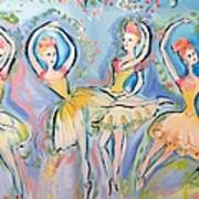 Ruby Quartette Art Print