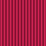 Ruby Red Striped Pattern Design Art Print