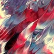 Ruby Velvet Art Print