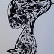 Rude Boy B/w Art Print