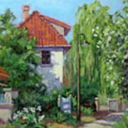 Rue Claude Monet Art Print
