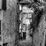 Rue Des Moulins Art Print