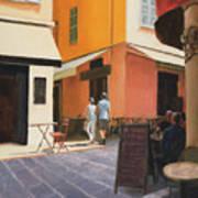 Rue En Nice Art Print