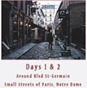Rue Gregorie De Tours Cover Art Art Print