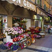 Rue Pairoliere In Nice Art Print
