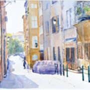 Rue Saint Georges Art Print