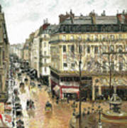 Rue Saint Honore Art Print