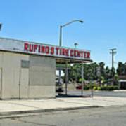 Rufino's Tire Center Art Print