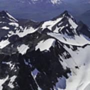 Rugged Mountain Peaks Art Print
