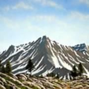 Rugged Peaks Art Print