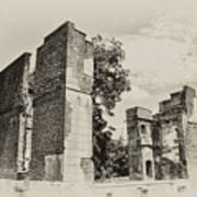 Ruins At Jamestown Art Print