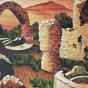 Ruins In Cumae Italy Art Print