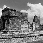 Ruins Of Ek Balan Art Print