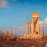 Ruins. Palmyra Art Print