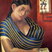 Ruiz: Lottery Ticket Seller Art Print