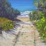Rules Beach Queensland Australia Art Print