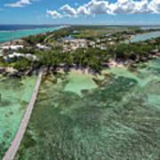 Rum Point Beach Panoramic Art Print