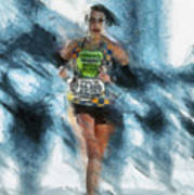 Runner Art Print by Anthony Caruso