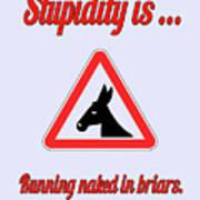 Running Bigstock Donkey 171252860 Art Print