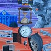 Running Out Of Time Art Print