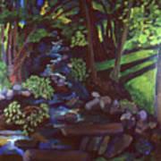 Runoff Stream Art Print
