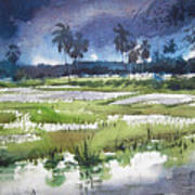 Rural Bengal 5 Art Print