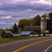 Rural Farm Art Print