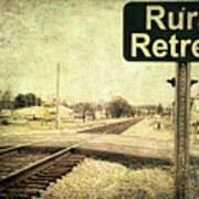 Rural Retreat Art Print