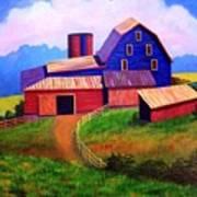 Rural Reverie Art Print by Hugh Harris
