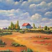 Rural Skies Art Print