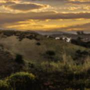Rural Sunset In Spain Art Print