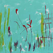 Rushes And Reeds Art Print