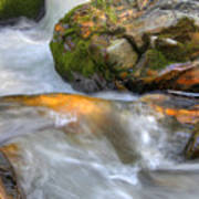 Rushing Water 2 Art Print
