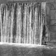 Rushing Waterfall Art Print