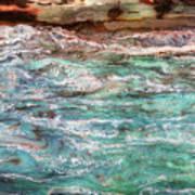 Rushing Waters Art Print