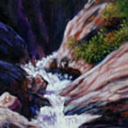 Rushing Waters two Art Print