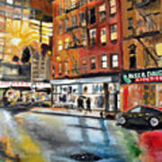Russ And Daughters Art Print