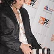 Russell Brand At Arrivals For 48th New Art Print by Everett
