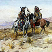 Russell Charles Marion On The Prowl Art Print